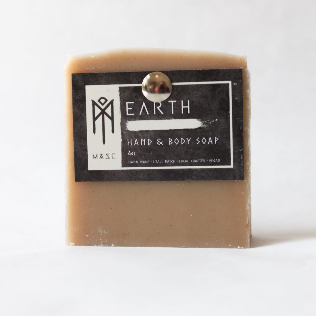 Charcoal & Rose Petals MASC Hand & Body Soap