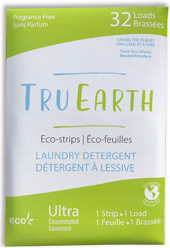 Tru Earth Laundry Strips (Unscented, 2 Strips)