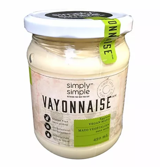 Simply Simple Vayonnaise (Vegan Mayo)