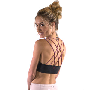 braided back bra top