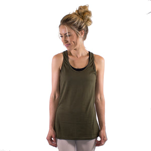 razer back cotton tank