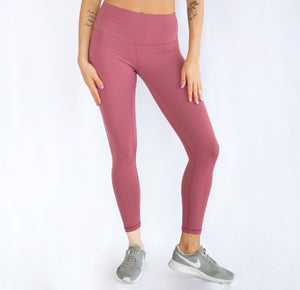 Lifted High Waist Dusty Rose Seamless Leggings