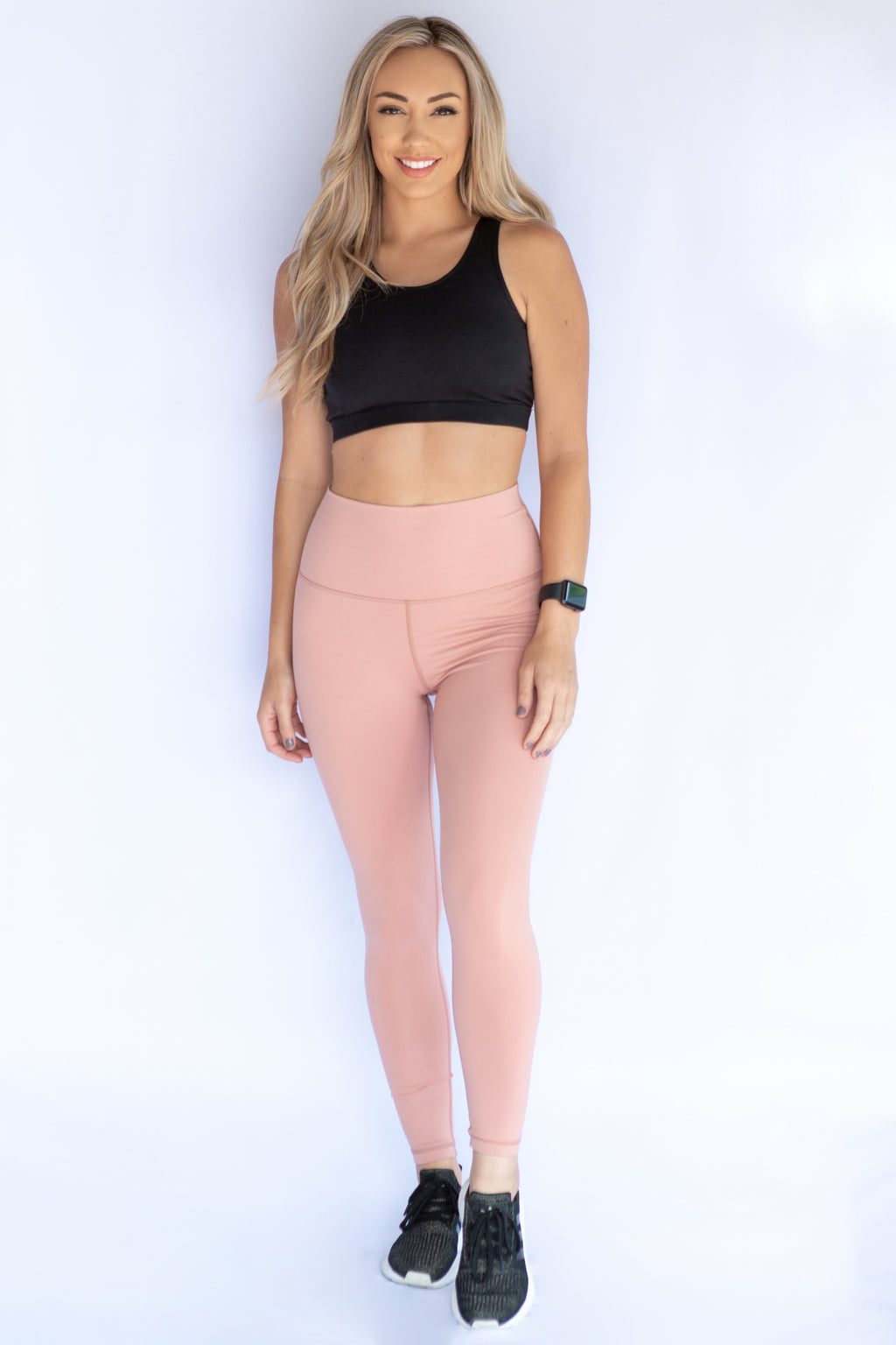 Seamless high waisted leggings