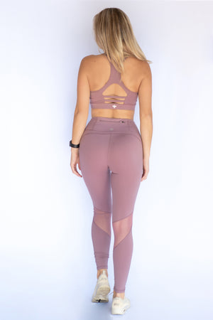 High waisted mesh leggings