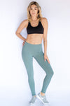 Tiny Dancer Teal Leggings