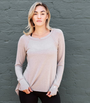 leisure long-sleeve shirt