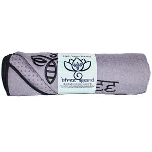 Bfree hot yoga towel with microbeads