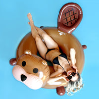 Inflatable Beaver Cute Pool Float