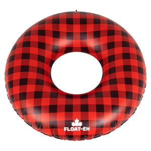 Buffalo Plaid Inflatable Pool and Lake Float - Float-Eh