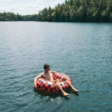 Buffalo Plaid Checkered Giant Water Tube - Float-Eh