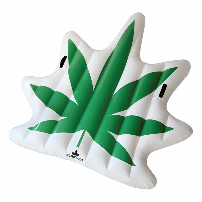 Cannabis Weed Leaf Pool and Water Float - Float-Eh