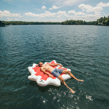 Canadian Maple Leaf Inflatable Lake Floatie - Float-Eh