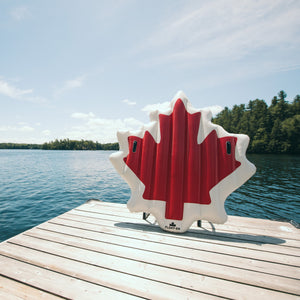 Canadian Maple Leaf Inflatable Pool Float - Float-Eh