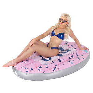 Speech Bubble Inflatable Pool and Lake Float for Adults - Float-Eh