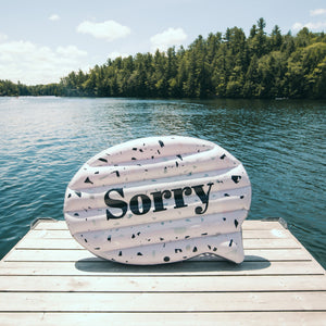 Canadian Hilarious Sorry Pool and Lake Inflatable Float - Float-Eh