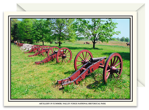 Artillery Valley Forge National Historical Park