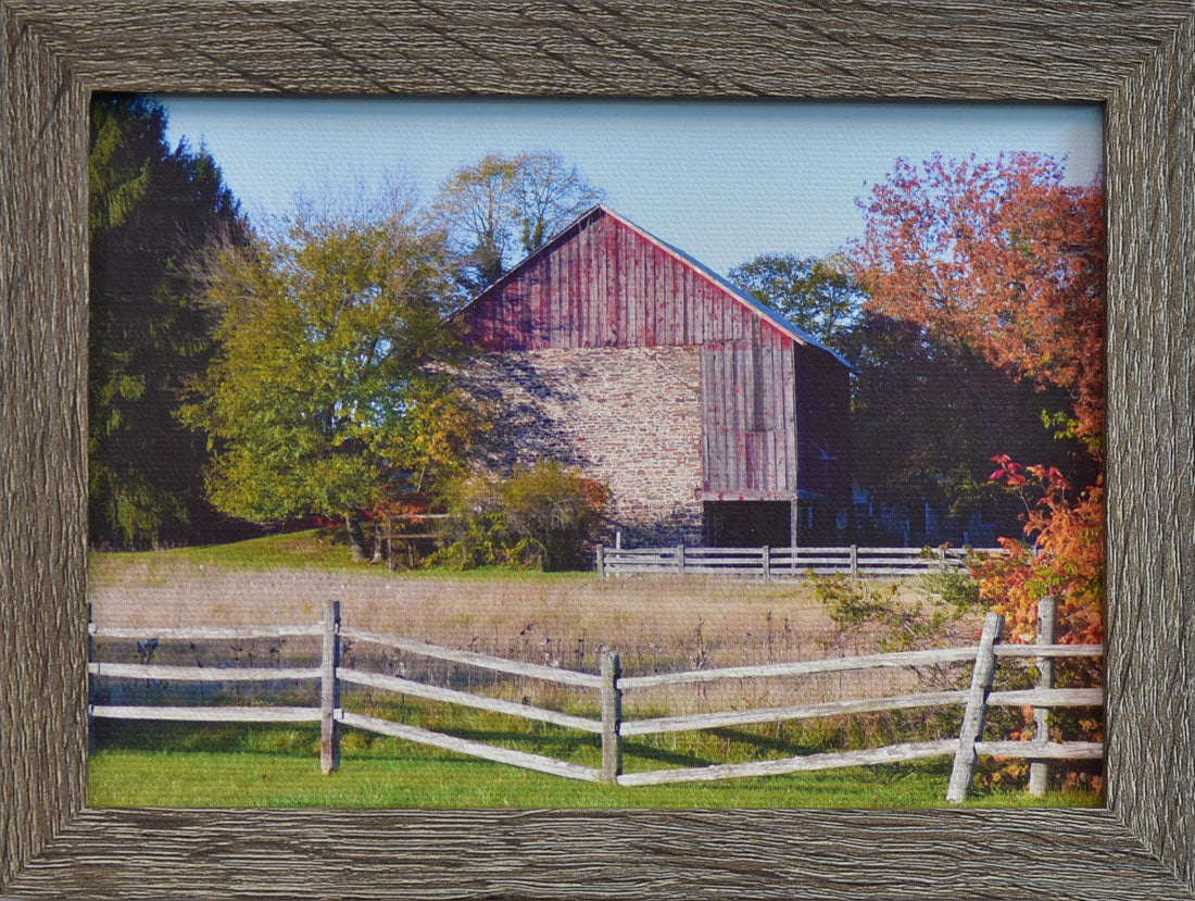 Autumn Rustic Barn