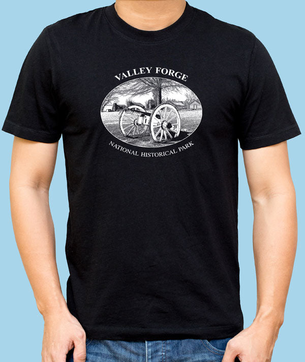 Valley Forge Cannon and Cabins T-Shirt