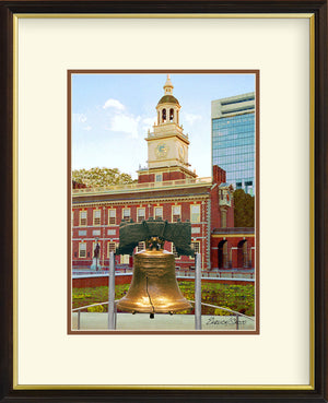 Liberty Bell & Independence Hall Vertical
