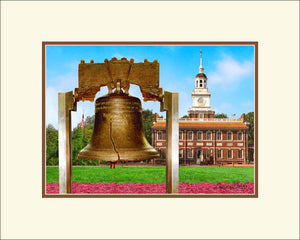 Liberty Bell & Independence Hall