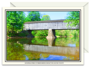 Schofield Ford Covered Bridge Reflections