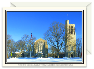 Washington Memorial Chapel in Winter