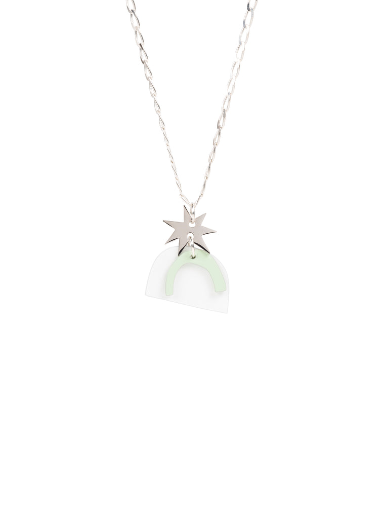 Vega Charm Necklace (Silver)