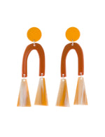 Tremble Earrings (Sunflower Yellow)