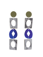 Handicraft Statement Earrings (Bamboo)