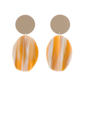 Geology Earrings (Tan)