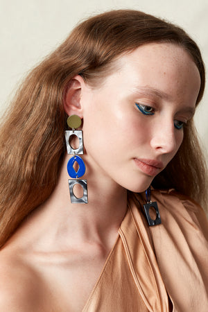 Bianca Mavrick Jewellery Handicraft Statement Earrings