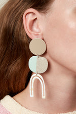 Efira Earrings (Tan)