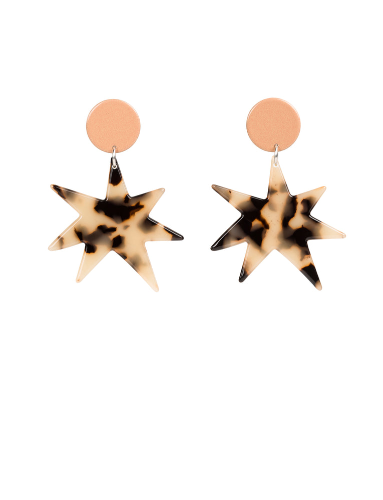 Asta Earrings (Peach)