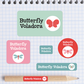 Butterfly Paquete Regreso a Clases Con Diseño+Ropa