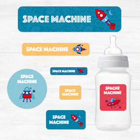 Space Machine Paquete Guardería Con Diseño