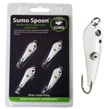Sumo Spoon - Catfishing Bait Spoon for Skipjack, White Bass, Striped Bass and Other Baitfish, 1 5/8""