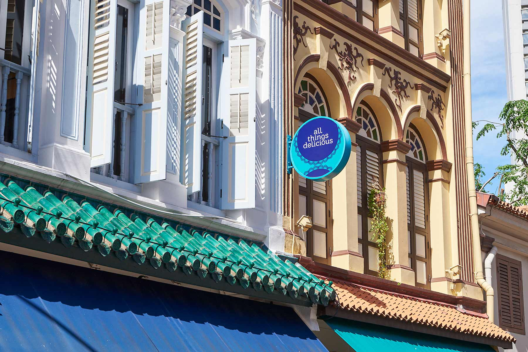 Arab Street Flagship Store restaurant front All Things Delicious