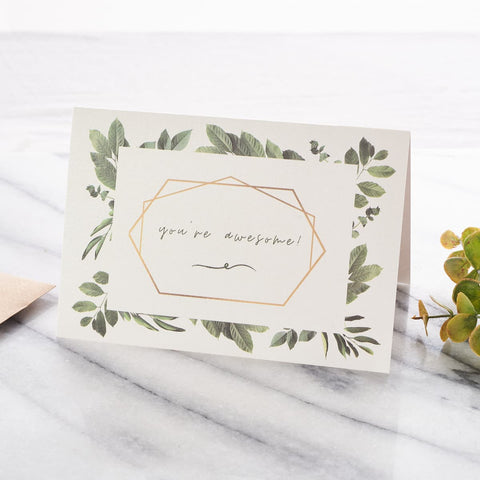 Greeting Card: Your Awesome