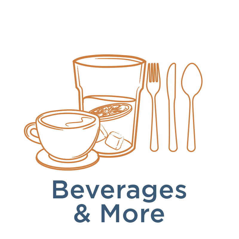 See all our Beverages & More