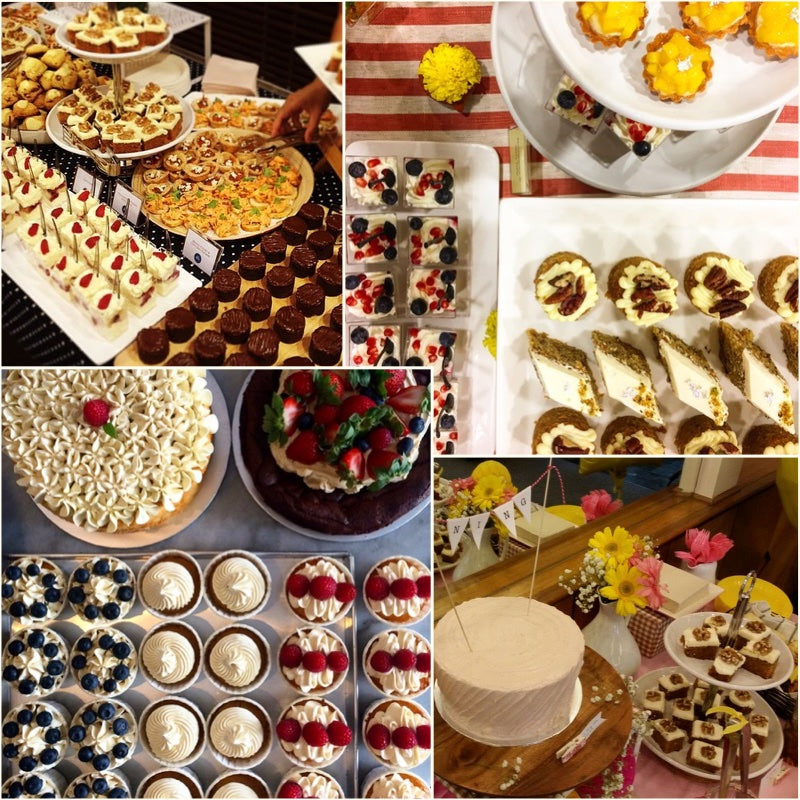 Dessert buffet for wedding party and event