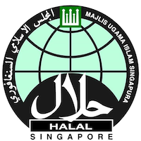 100% certified halal food and drinks