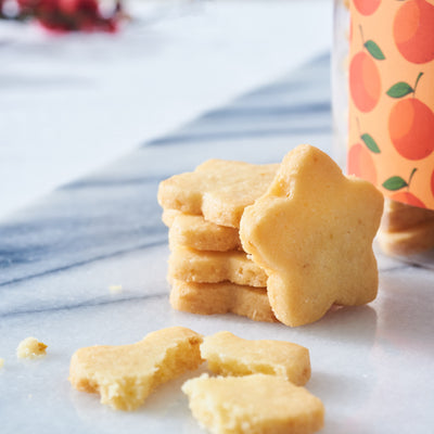 Orange Sablé Cookies