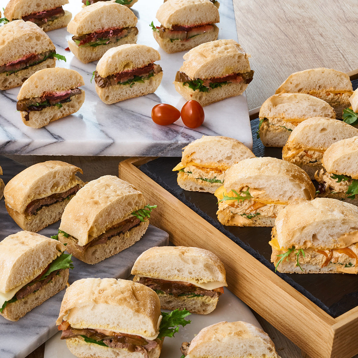Box of Assorted Finger Sandwiches - Premium (Small Group)