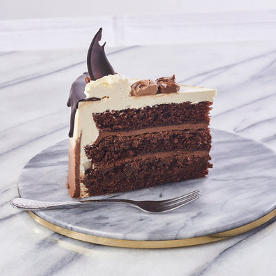 Chocolate Crunch Ombre Cake