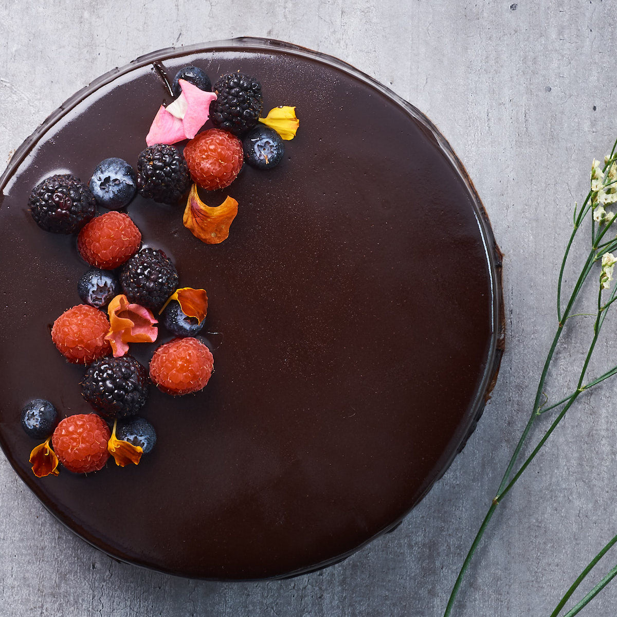 Dark Chocolate Torte (GF)
