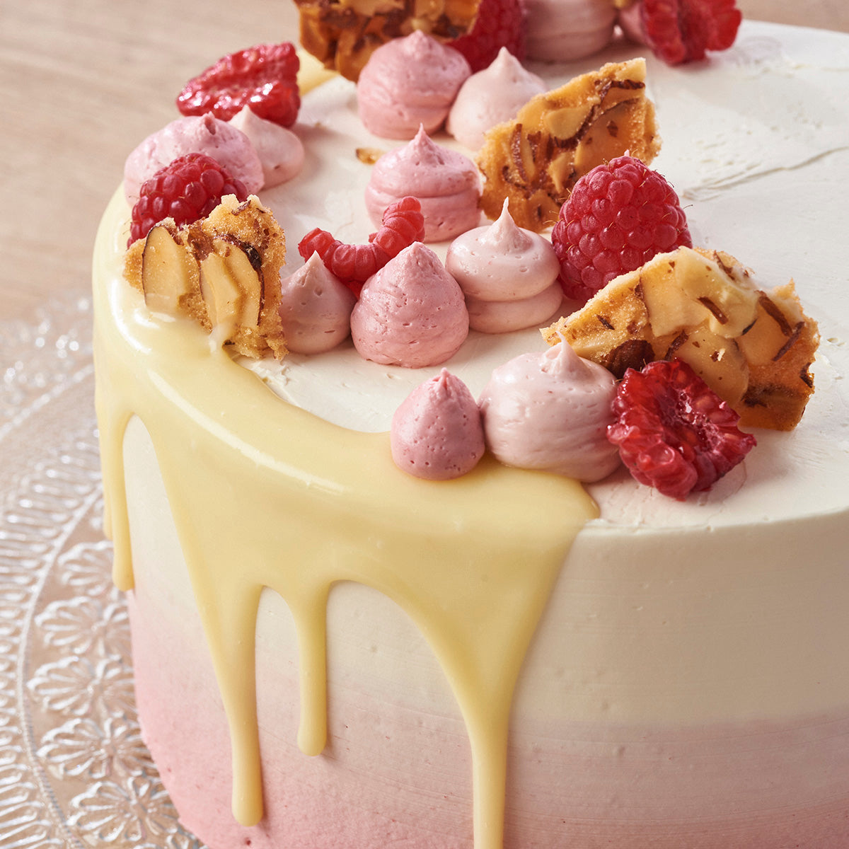 Raspberry Ripple Cake (New & Improved)