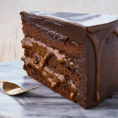 Sea Salt Caramel Chocolate Cake