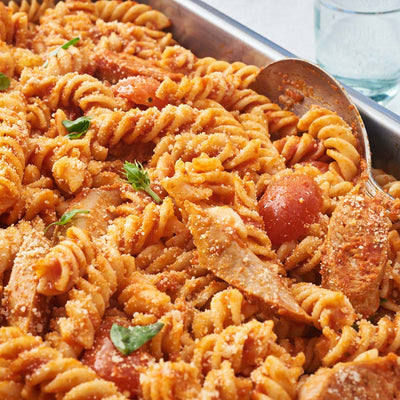 Fennel Sausage & Cherry Tomatoes Pasta