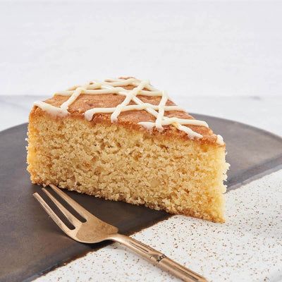 Orange-infused Sugee Cake