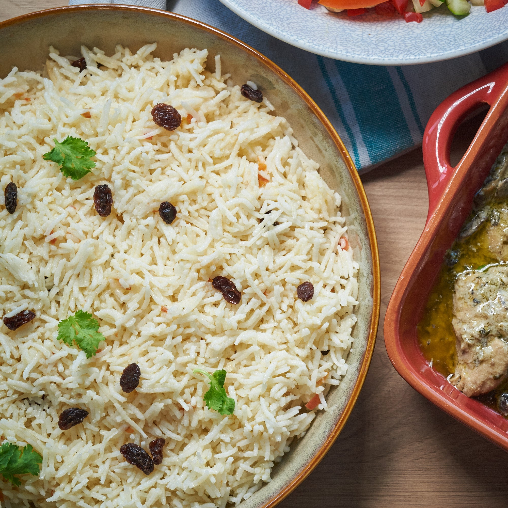 Tray of Basmati Pilaf